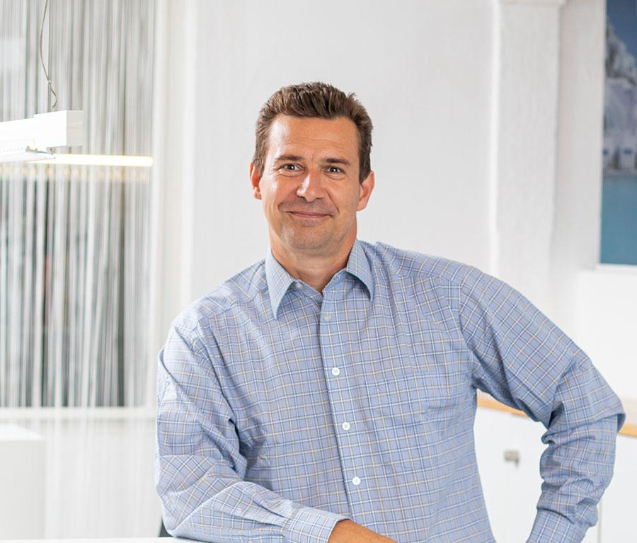 Andreas Machacek, Vertrieb Whirlpool, Goldmann Wellness