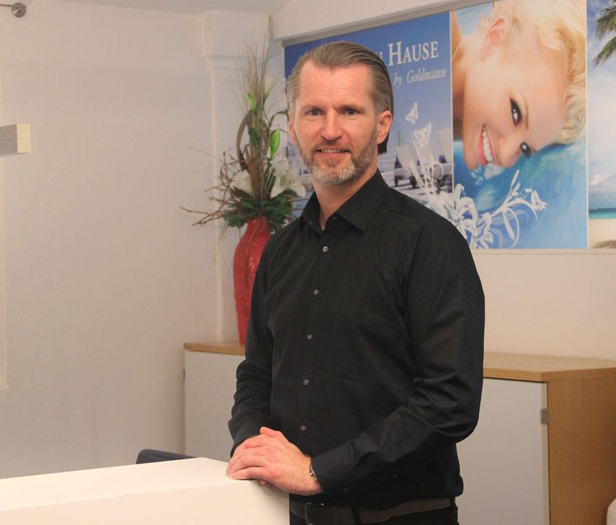 Gonzalo Scheutzlich, Vertriebsmitarbeiter, Goldmann Wellness