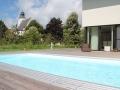 Schwimmbecken mit Skimmer